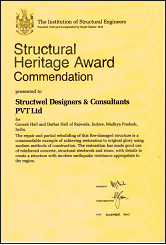 Structural Heritage Award