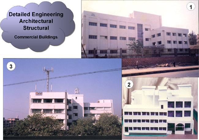 Commercial Buildings of MTNL
