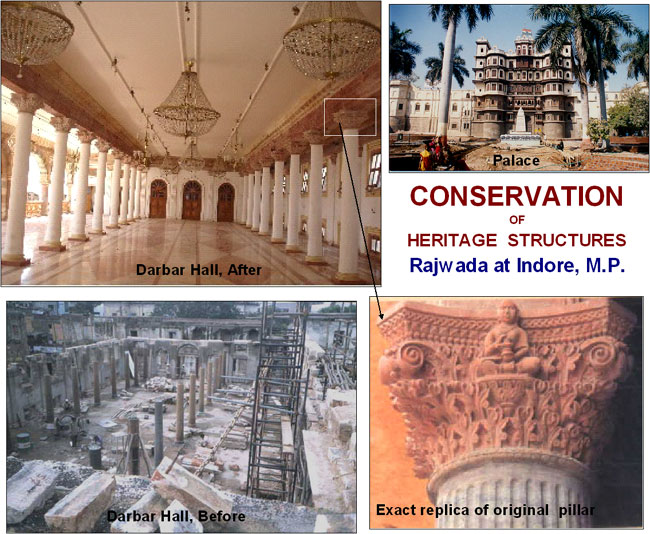 Conservation - Indore Rajwada
