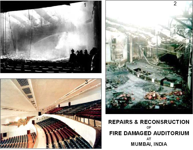 Repair & Restoration of a Fire Damaged Structure