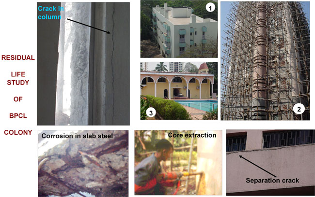 Repairs - Residual Life Study of Structures at BPCL Colony