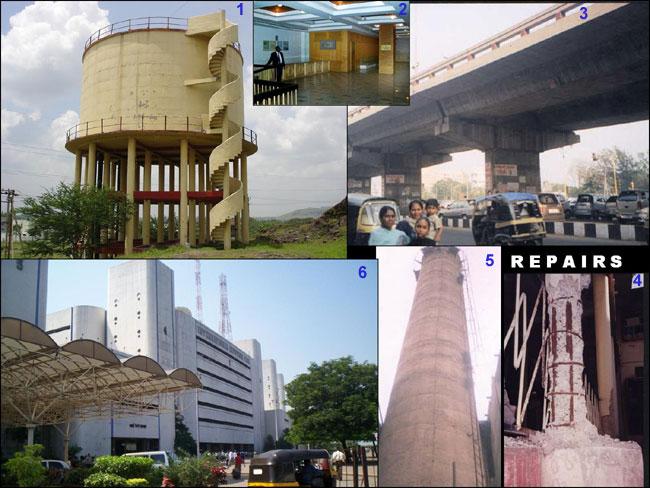 Repairs & Restoration of Various Structures