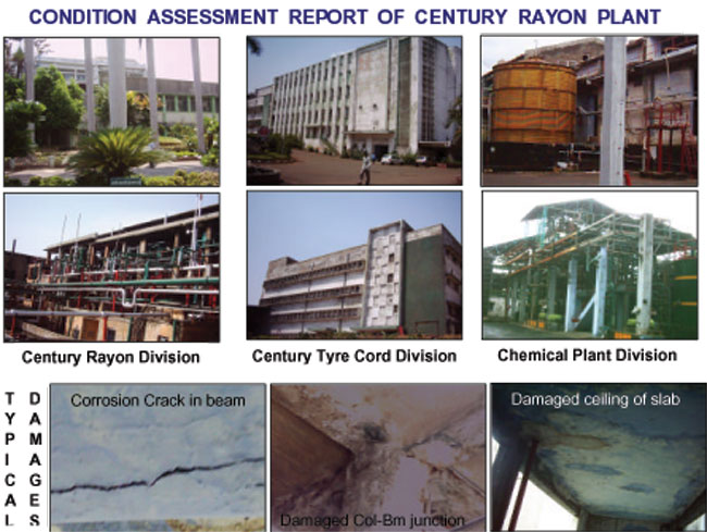 Structural - Condition Assessment of Century Rayon Plant
