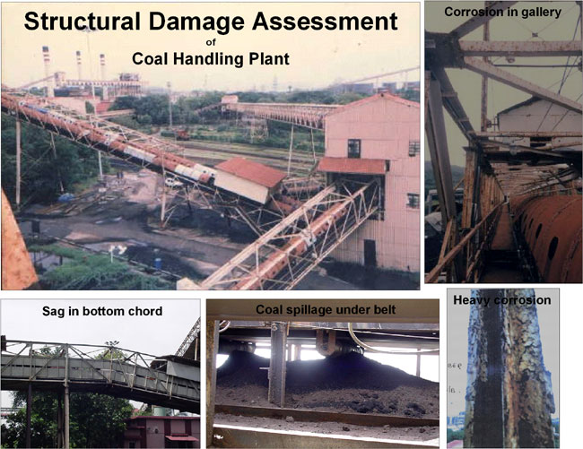 Structural Damage Assessment at a Coal Conveyor Plant